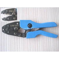 Spark plug wire crimping tool ratchet crimping tool for crimping and stripping spark plug AN-2048