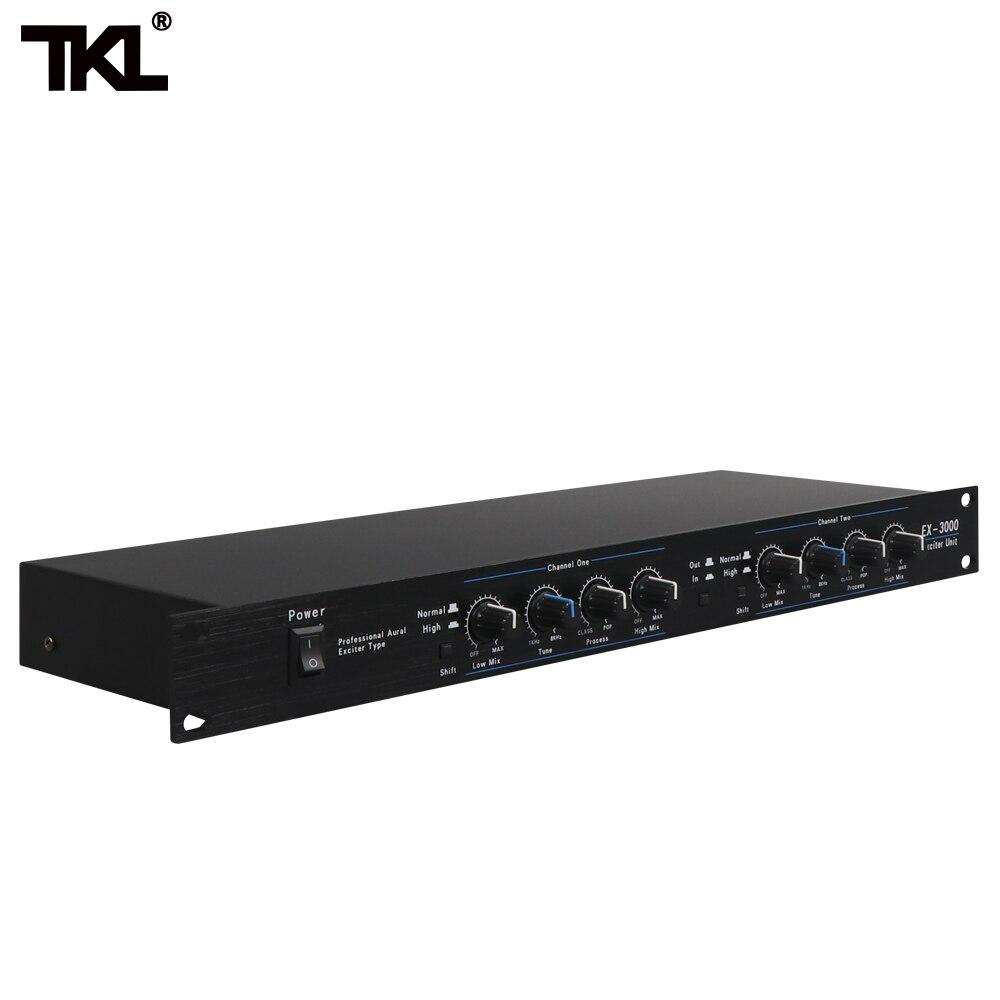 TKL 2 канала звук аудио возбудитель процессор динамик управление pro аудио процессор protea pro сценическое аудио оборудование