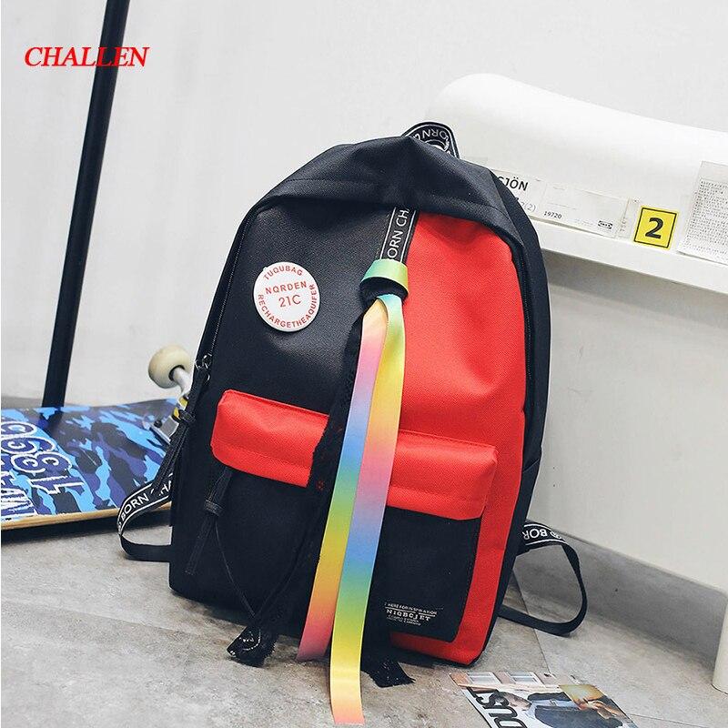 Women Backpack Female Schoolbag Travel Bag Fashion School Backpack for Girls Luxury Brand Bag Mochila Feminina