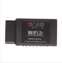 2017 Top Selling ELM327 WIFI V2.1 OBD2 Diagnostic Scan Tool Support FOR IOS Android and PC Software V2.1 ELM327 WIFI(China (Mainland))