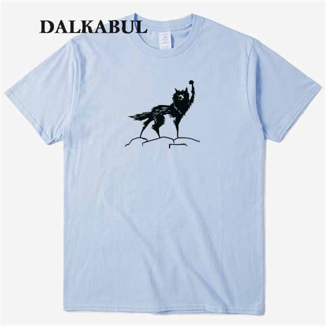 Fantastic Beasts Mr. Fox T Shirt 2018 Video Game Fox T-shirts Animal Tops Tees Short Sleeve Men Women Funny Top Clothing 3XL