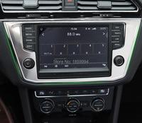 For 2016 2017 VW Tiguan Mk2 L Allspace Car Interior Console Navigation Screen Panel Frame Cover