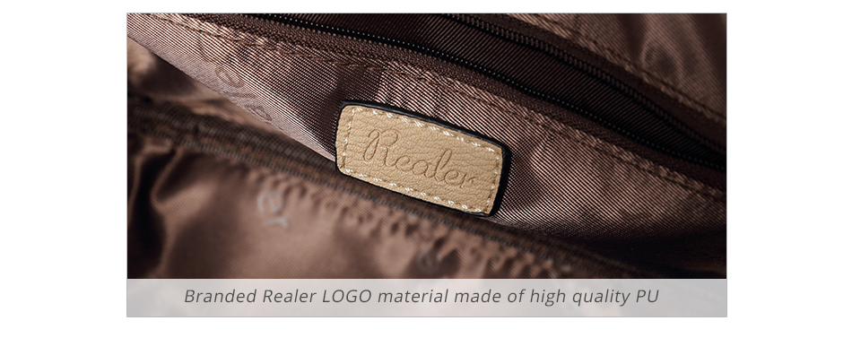 REALER brand small shoulder bag for women messenger bags ladies PU leather handbag purse tassels female crossbody bag women 2019 7