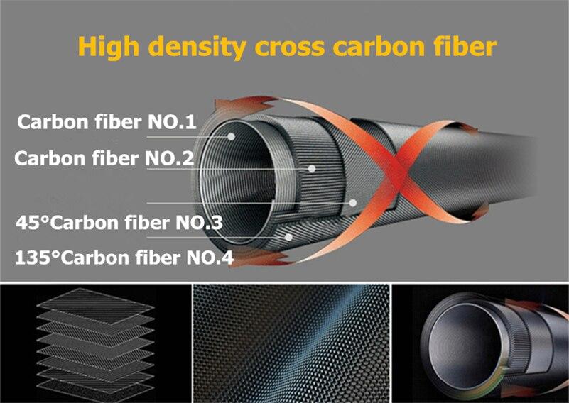 Novo!!!! 38cm ultra curto telescópica vara de