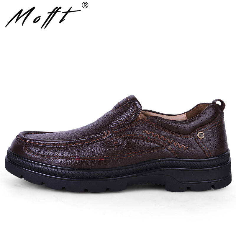 Autumn New Arrival Handmade Leather Men Shoes Fashion Designer Lace Up Business Casual Shoes Men Flats