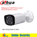 "DAHUA HDCVI Bullet Camera 1/2.7"" 2Megapixel CMOS 1080P IR 30M IP67 2.7~12mm vari-focal lens HAC-HFW1200R-VF-IRE6 security camera"