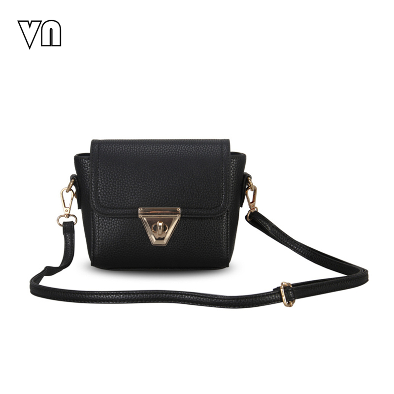 Vn الماركات 2016 الجديدة النساء messenge حقائب السيدات حقائب جلدية الكتف حقيبة crossbody حقيبة صغيرة مخلب محفظة صغيرة