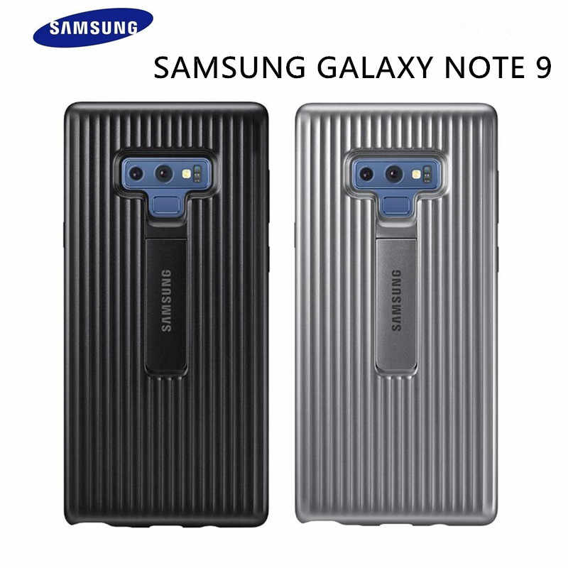 Samsung Galaxy Note 9 S9 S9+ S9 plus SM- N960F G960 G965 Original Standing Phone Case Hard Ultimate Device Protection Back Cover