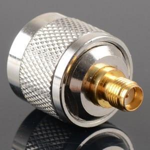 Image 4 - Adapter N Stecker Männlichen Nickel Plating Zu SMA Weibliche Vergoldung Jack RF Stecker Gerade VC720re P15 0,3
