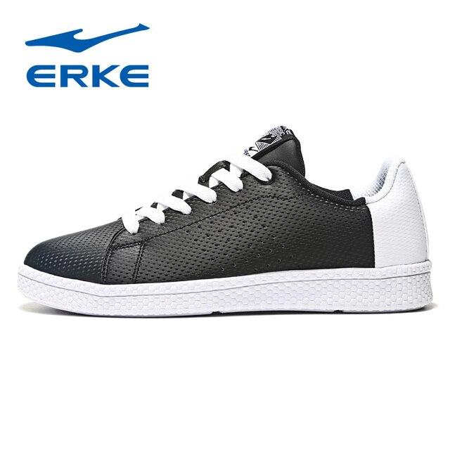 Ерке Для женщин Скейтбординг обувь Спорт 2018 Демисезонный кроссовки Открытый Спортивная обувь воздухопроницаемая комфортная обувь Для женщин