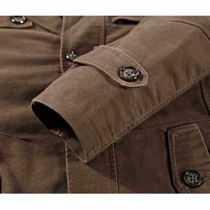Joobox primavera outono fino ajuste trench coat dos homens botão de algodão longo masculino jaqueta casual blusão casacos casaco 3xl