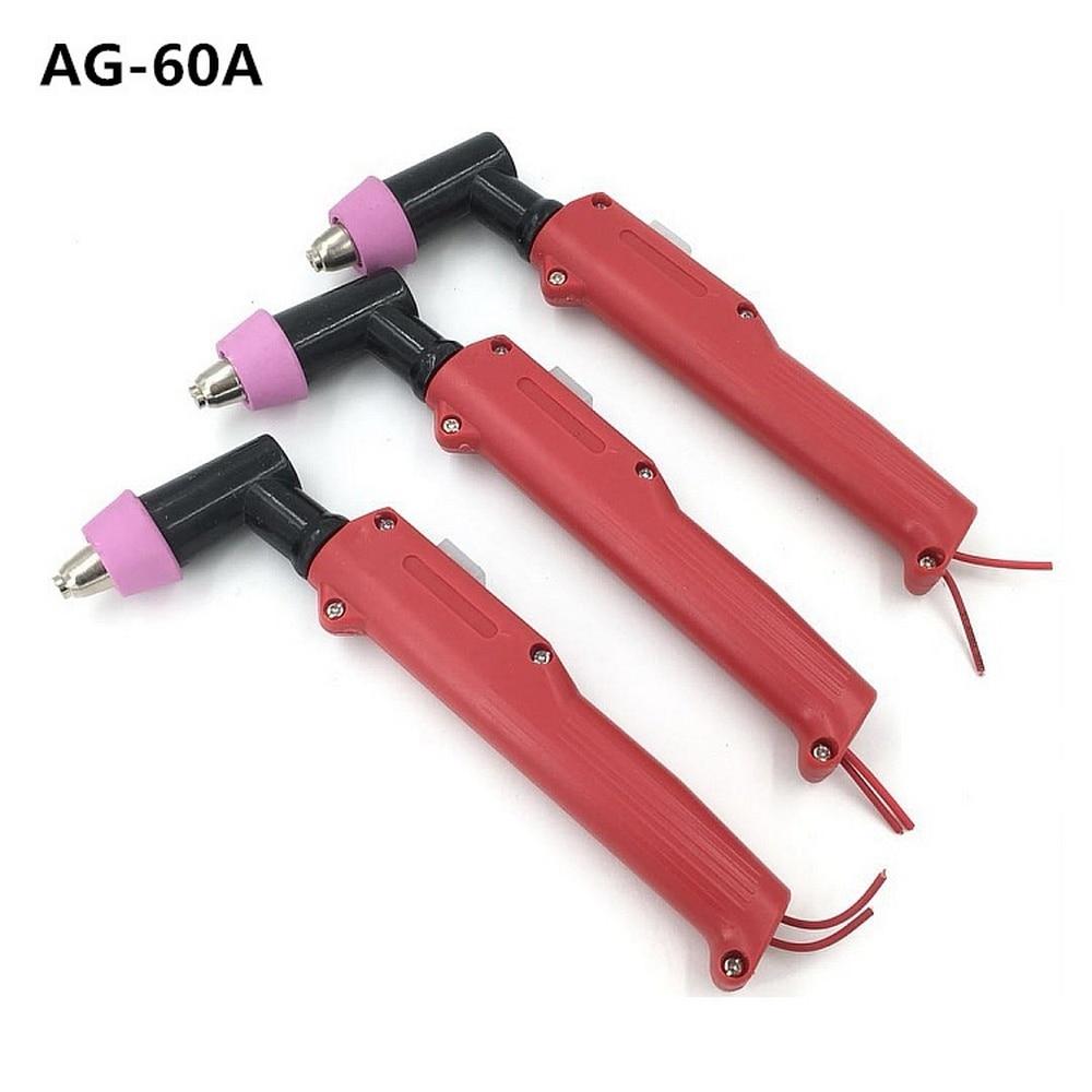 AG60 Plasma Cutter Gun Torch Kopf Inverter Heavy Duty Air Gekühlt 60A Plasma Schneiden Maschine AG-60 Plasma Schneiden taschenlampe Körper