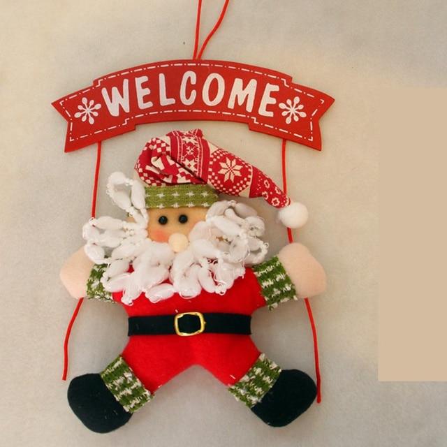 Santa Claus Outdoor snowman decoration 5c64ef1f44be8