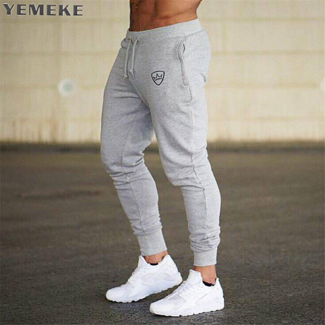 Sweatpants Men s New Stylish Tracksuit Trousers 2018 Autumn Winter Casual  Joggers Solid Color Long Track Workout Pants Men 1f5a629e9