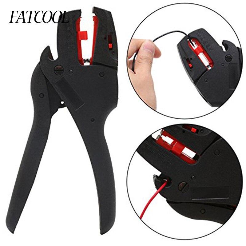 Fatcool Fs-d3 Abisolieren Zange Selbst-anpassung Isolierung Bereich 0,08-6mm2 Mit Draht Cutter Palette Hohe QualitäT Und Geringer Aufwand Werkzeuge