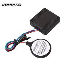 Vehemo Automobile Auto Button RFID Burglar Entry Immobilizer Anti-Theft Engine Alarm Alert