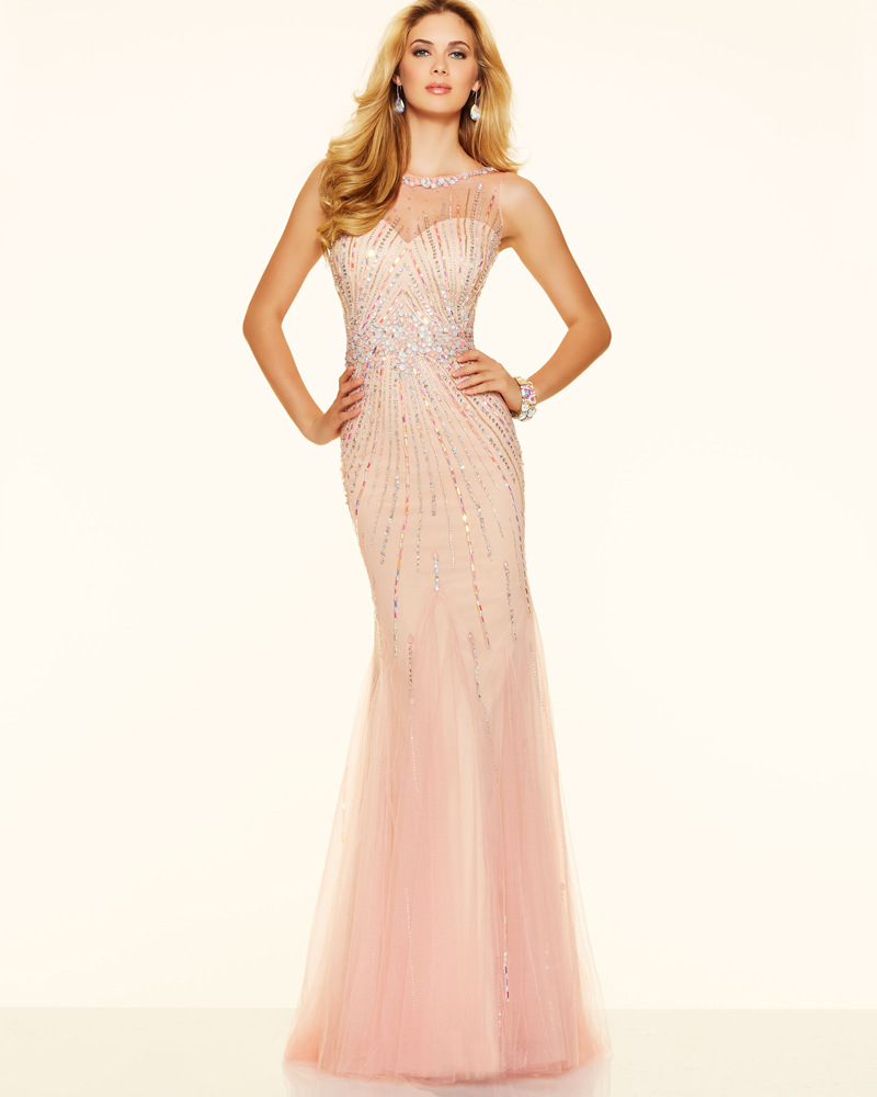Pink champagne colored prom dresses - Best Dressed