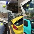 Pegatinas de Coches en 3D Bola de tenis Golpea Carrocería Del Coche Etiqueta de La Ventana para Volkswagen VW Polo Passat B5 B6 CC Golf 4 5 6 7 Touran