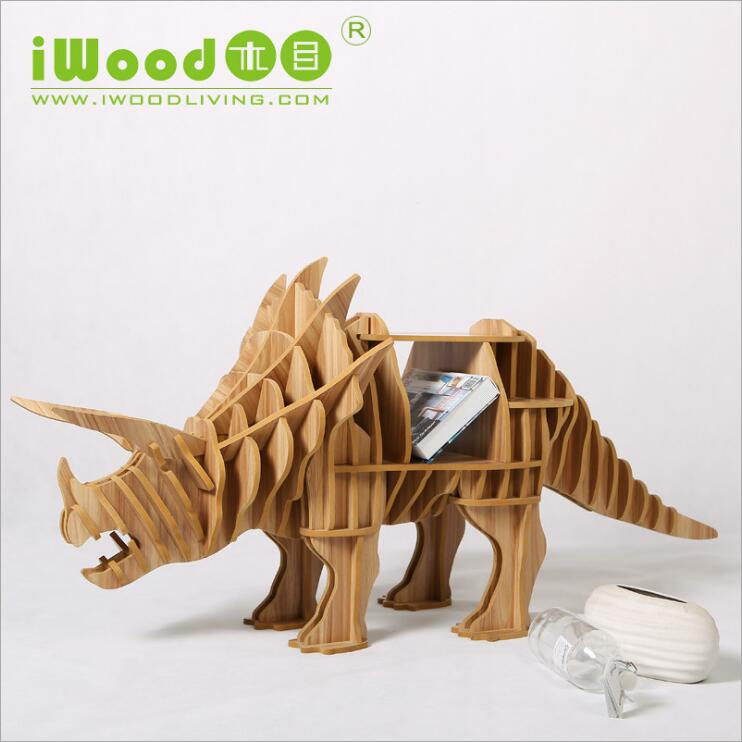 European Nordic artistic home craft ornaments creative home furnishing wood wood crafts simulation dinosaur free shipping xinqite home furnishing ornaments product suspension globe round 3 inch 85mm blue english version of the spot
