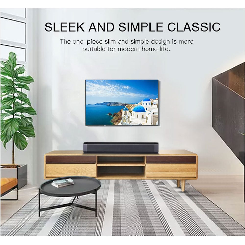 Image 3 - 10W TV Soundbar Bluetooth speaker FM Radio home theater system portable wireless subwoofer bass MP3 Music boombox-in Soundbar from Consumer Electronics