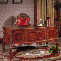 Solid Wood Desk Classical Desk