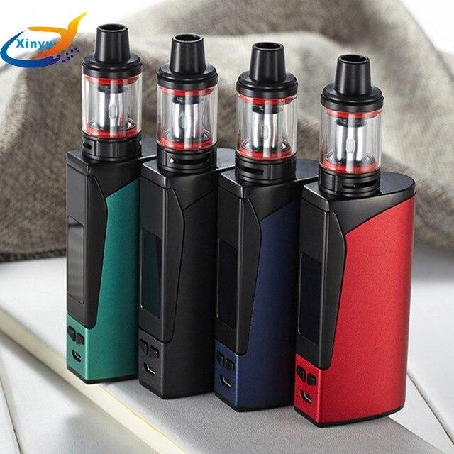 Le plus nouveau KIT de Cigarette électronique 100 W narguilé stylo vaporisateur écran LED 2200 mah 3.5 ml grand atomiseur de fumée vaporisateur boîte Mech Mod Kit