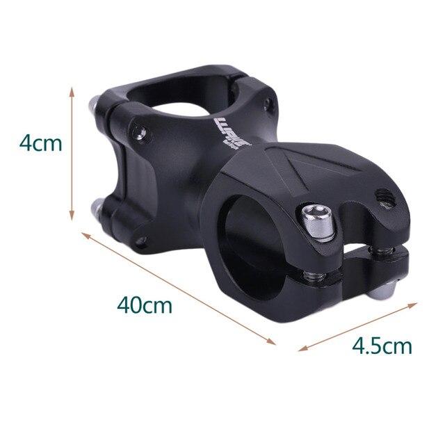 31.8*60mm/31.8*80mm CNC Mountain Bikes Practical Bicycles Aluminum Alloy Handlebar Bike Accessories Black
