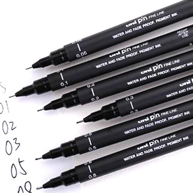 6pcs Fineliner Pigma Micron Pens