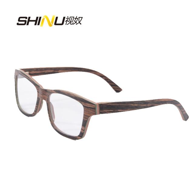 019656e74fdf0 High End Moda Óculos Mulheres Homem Óculos de grau Armação De Madeira  Madeira Óculos Ópticos Enquadrar