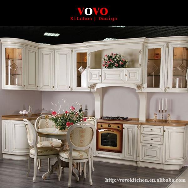 Elegante weiße massiver eiche küche in Elegante weiße massiver eiche ...