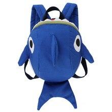 20db2c8c3c54 Cute Kids School Bag Kindergarten Girls boys Backpack School Bags Cartoon  Shark Nylon Baby Book Bag