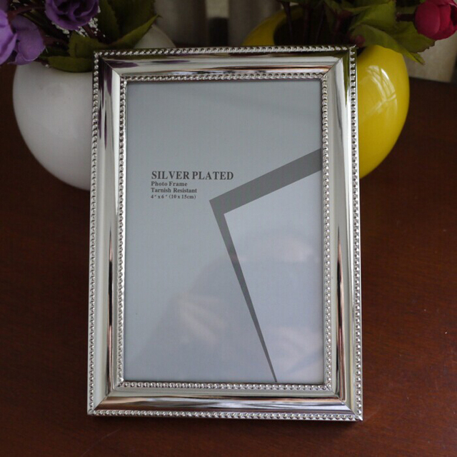 Very Hot Luxury Freestanding Alloy Metal Photo Frame Picture Frames