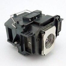 ELPLP58/V13H010L58 reemplazo de lámpara de proyector con carcasa para Epson EB-S10/EB-S9/EB-S92/EB-W10/EB-W9/ EB-X10