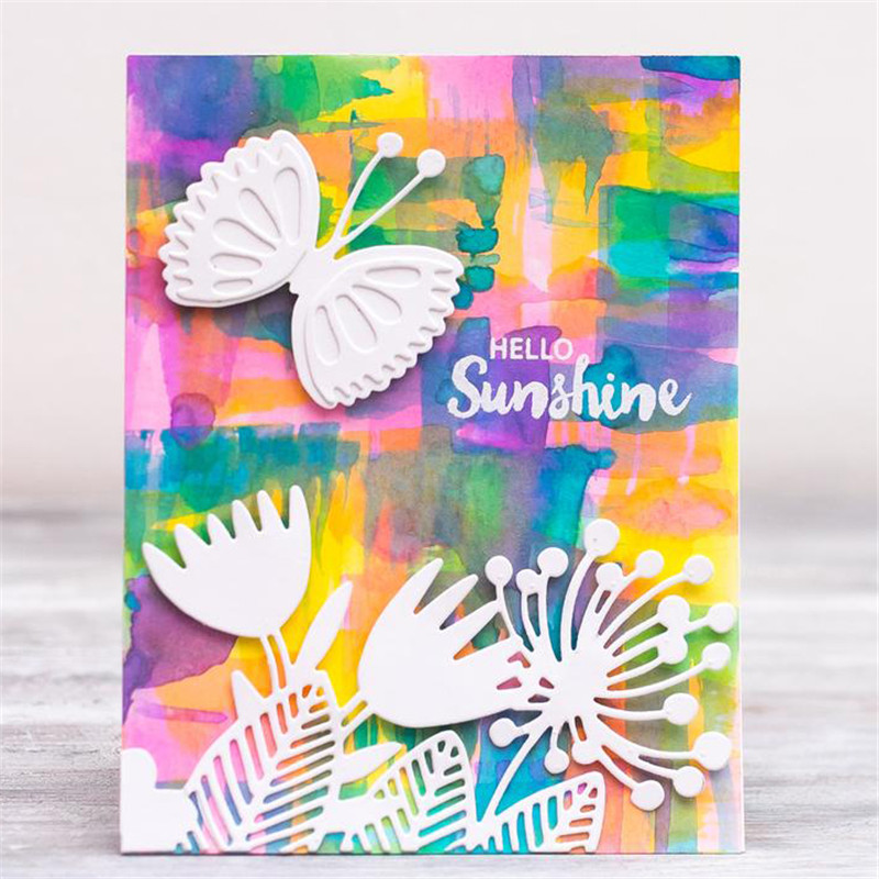 Butterfly Insect Wing Metal Cutting Dies Scrapbooking New 2019 Craft Dies Cut Card Making Album Stencil Embossing Decoration in Cutting Dies from Home Garden