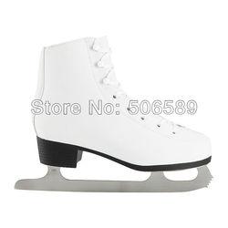 Бесплатная доставка хоккейные коньки для взрослых #36 -- #42 8227410 водонепроницаемые пу