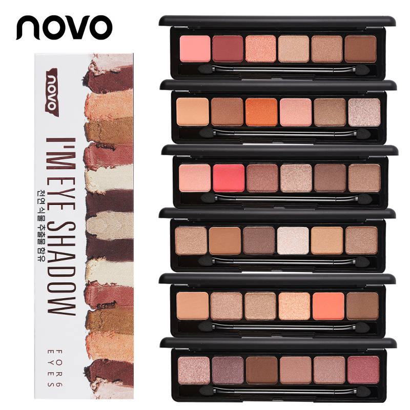 Faithful Ucanbe Brand New Nude Eyeshadow Palette 18 Colors Glitter Matte Shimmer Shades Rosy Pink Eye Shadow Waterproof Beauty Makeup Kit Eye Shadow