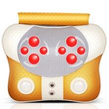 household Cervical vertebra massager neck waist back shoulder massage pillow multifunctional cushion health care instrument