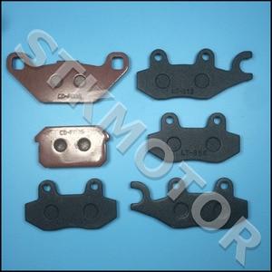 Image 2 - 6 sztuk KAZUMA 500CC ATV klocki hamulcowe dla KAZUMA Jaguar 500CC ATV Quad przedni lewy prawy przedni i tylny hamulec klocki