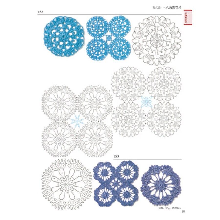 Atemberaubend Leicht Häkelarbeitblume Frei Muster Bilder ...