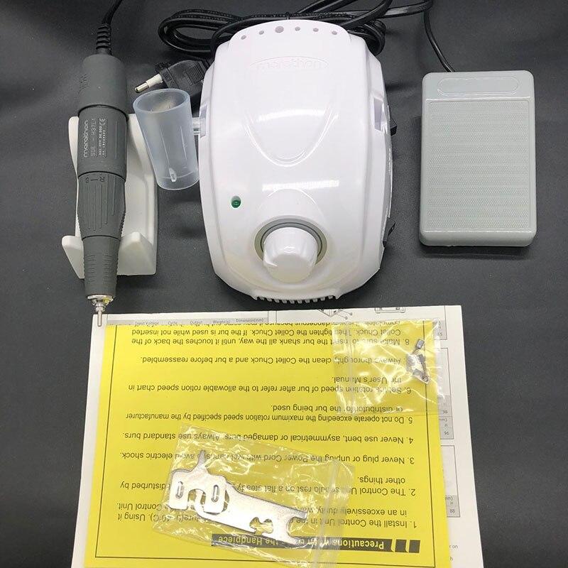 NIEUWE 45 K MARATHON Kampioen 3 Elektrische Nail Boor H37LN handstuk STERKE 210 voor Manicure Nail Boor Polijsten Micromotor-in Elektrische Manicuur Machines & Accesoires van Schoonheid op  Groep 3