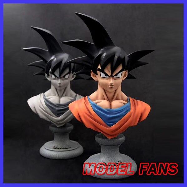 Modèle FANS instock original dragon ball Z son goku 1/3 buste gk résine statue figure jouet pour collection