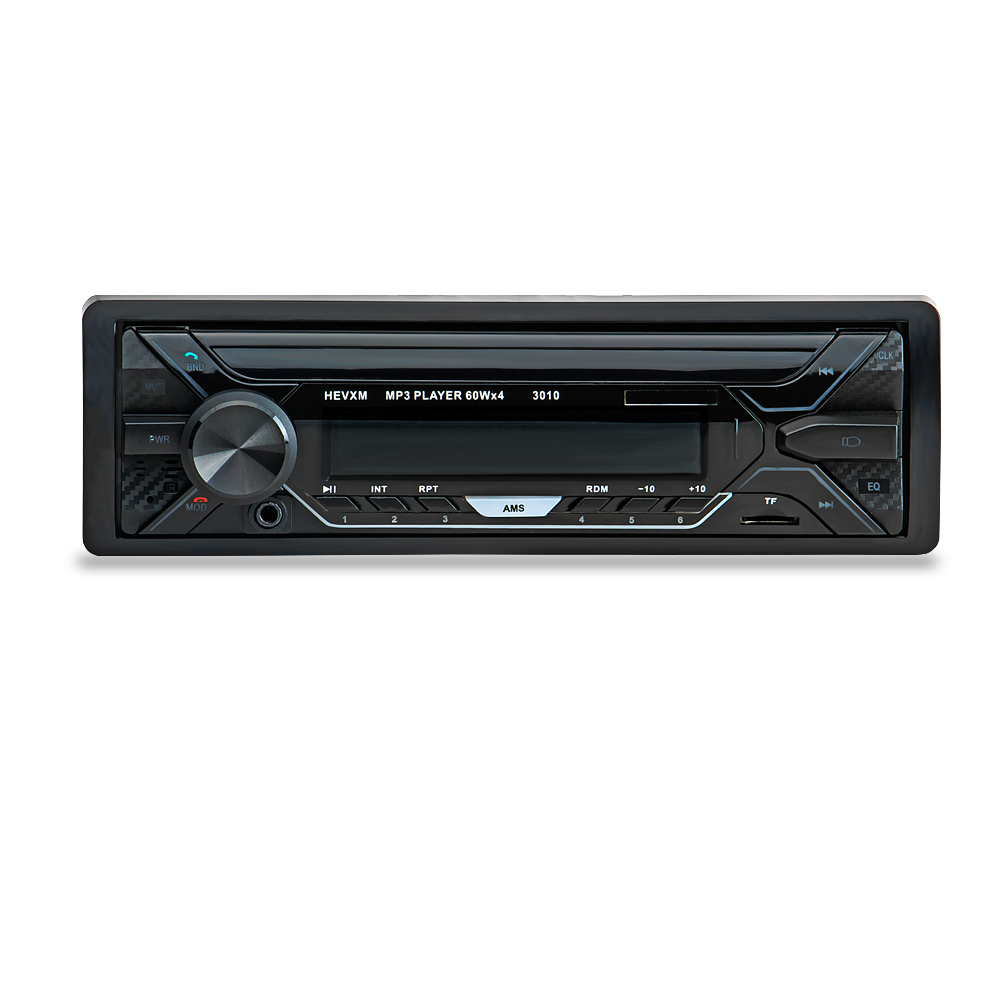 Image 2 - 3010 Car MP3 Player 12V Blue tooth V2.0 Car Stereo Audio In dash Single 1 Din FM Receiver Aux Input  MP3 MMC WMA Radio Player-in Car MP3 Players from Automobiles & Motorcycles