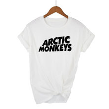 Arctic Monkeys Sound Wave Camiseta Tee Top Rock Band concierto-álbum camiseta alta camiseta Unisex más tamaño y Color-A112(China)