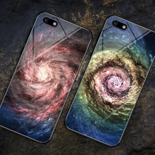 For Huawei Y5 2018 Case Tempered Glass Hard Back Cover Prime Lite Space print Cases y5lite