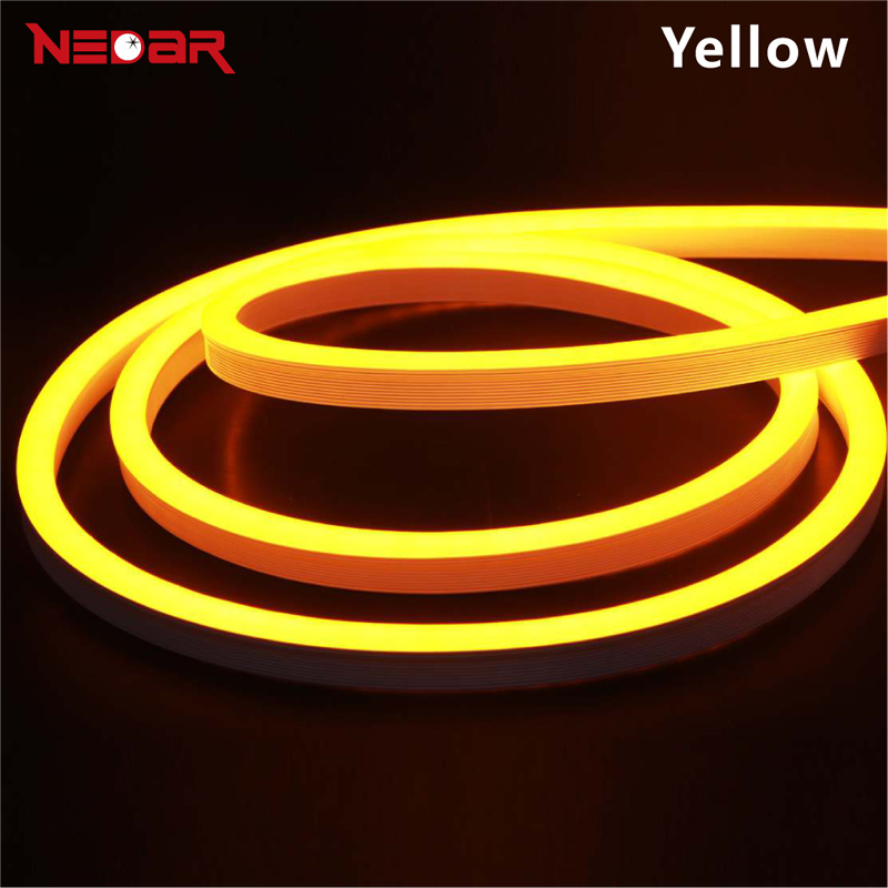 LED Neon Flexible Light 12V 2835 SMD ultra bright neon for decoration sign customized DIY led advertising neon flex sign