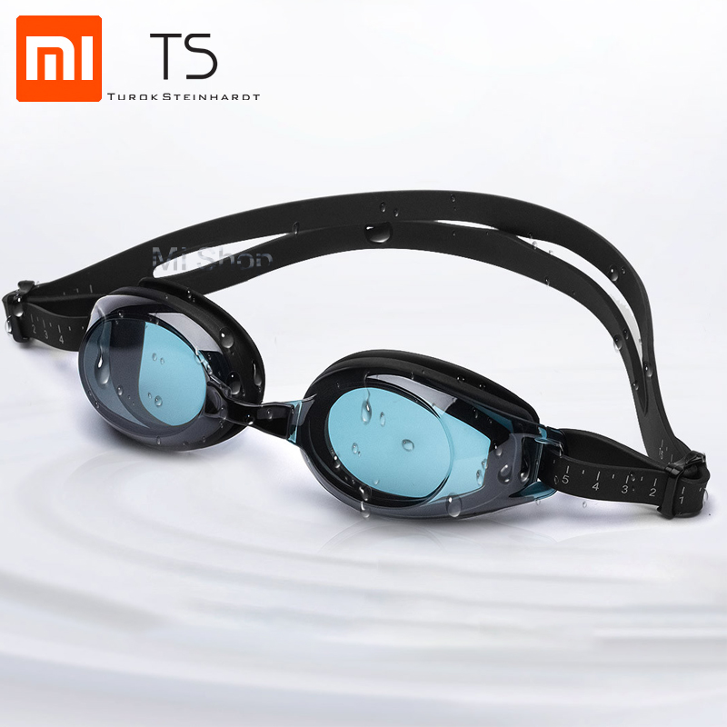 Original Xiaomi TS Adult Swimming Goggles Swimming Glass HD Anti-fog 3 Replaceable Nose Stump With Silicone Gasket