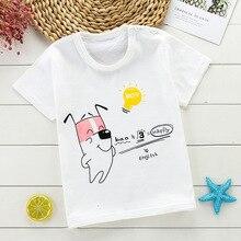Kids Cartoon Animal T Shirt Size 1-6 Year