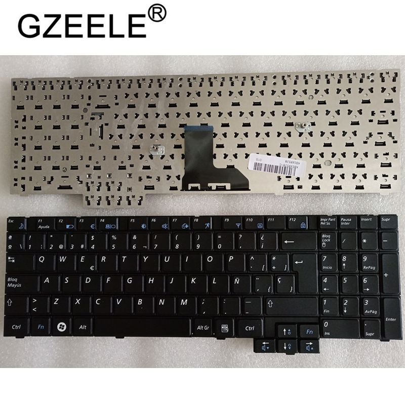 GZEELE SPANISH SP Keyboard For SAMSUNG R528 R530 NP-R528 NP-R530 NP-R540 R519 R719 NP-R719 NP-R519 R620 R517 R523 R525 KEYBOARD