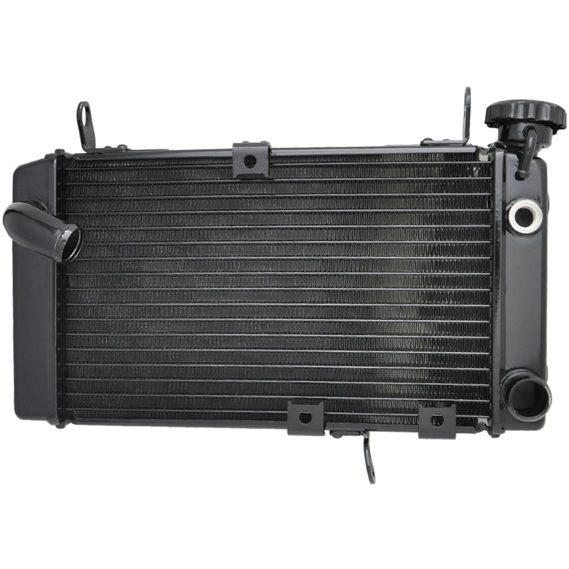 LOPOR Motorcycle Radiator For SUZUKI SV650 S SV650S SV 650 1999-2002 2000 2001 99-02 00 01 Aluminium Radiator New for suzuki sv 650 sv 650s sv650 sv650s katana 1999 2009 motorcycle accessories aluminum short brake clutch levers black