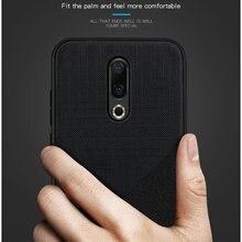 Чехол Mofi из поликарбоната и ткани смешанных цветов для задней панели смартфона Meizu 16th M16 16th Plus, чехол для 16th Plus